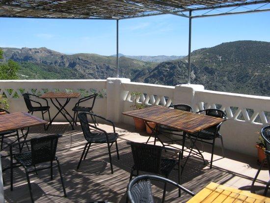 Pitres, Spanien: Terraza