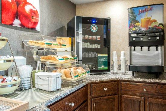 Meadville, Pensilvania: Breakfast area
