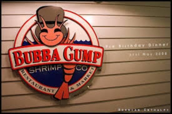 bubba gump logo - picture of bubba gump shrimp co, london