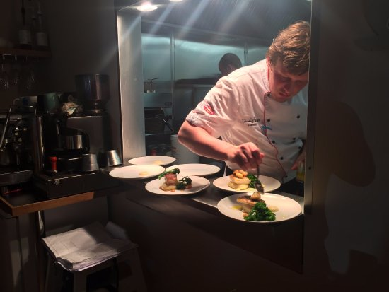Ballyclare, UK: Head Chef Daniel