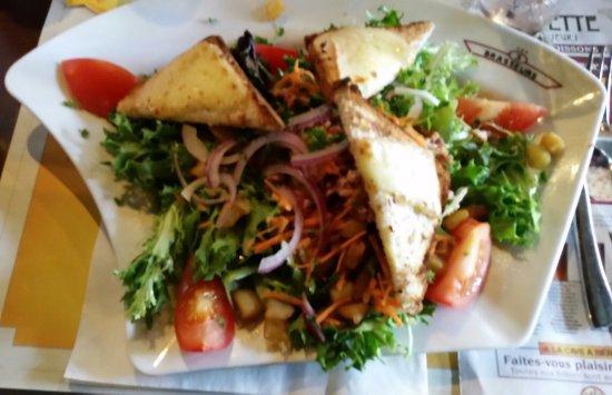 Jaux, Francia: Salade du nord
