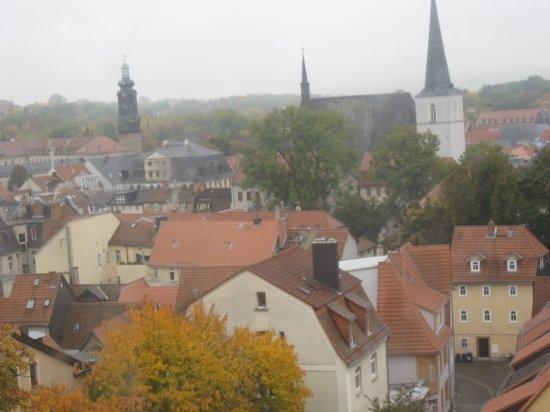 Jakobskirchhof: ヤコブ教会の塔から見た街