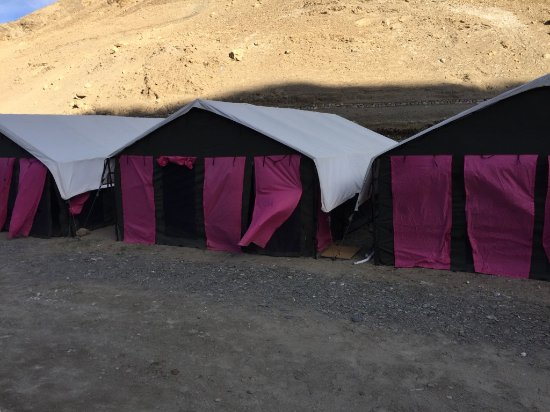 Yak Camp: The Tent