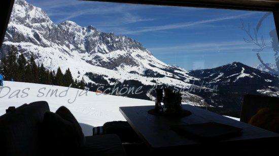 Muhlbach am Hochkonig, Austria: Aussicht im Winter !