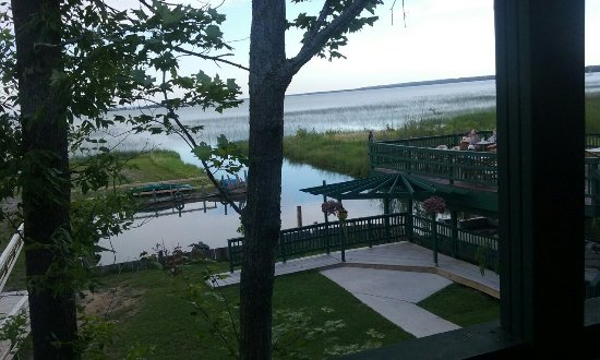 Brimley, MI: Dinner with a view