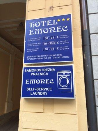 Hotel Emonec: отель эмонек