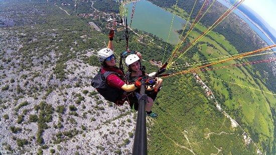 Crikvenica, โครเอเชีย: Paragliding tandem Croatia