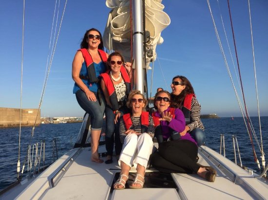 Go-Sail - Jersey Yacht Charter - Day Tours: Girls loved it