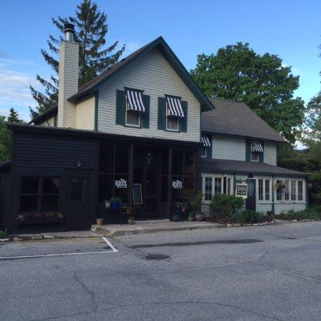 Exterior of Roots Inn & Kitchen