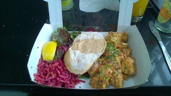 St Monans, UK: Fresh Crab Salad
