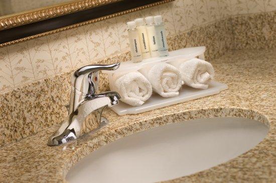 Holiday Inn Express & Suites Alexandria-Fort Belvoir: Guest Bathroom