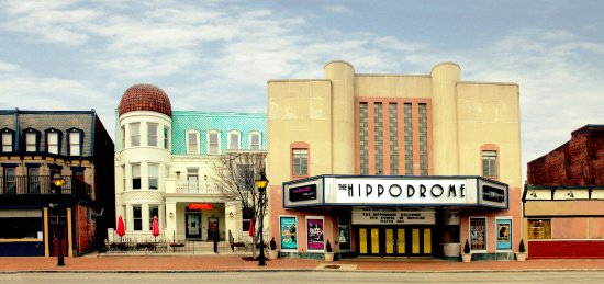 The Hippodrome Theater And Speakeasy In Historic Jackson Ward