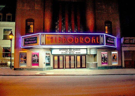 Hippodrome Theater The Hipp At Night