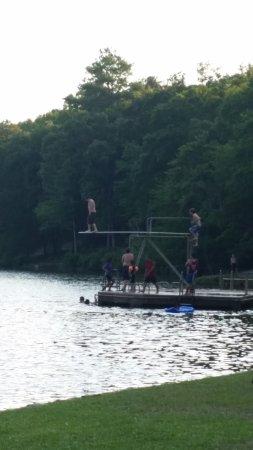 Auburn, AL: Chewacla State Park Diving area