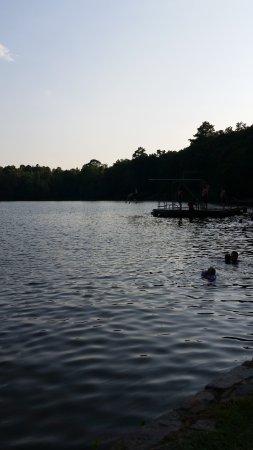 ออเบิร์น, อลาบาม่า: Chewacla State Park Diving/swimming area