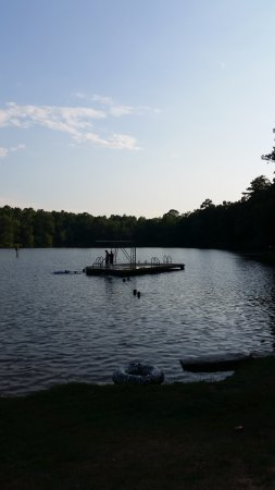 Auburn, AL: Chewacla State Park swimming area