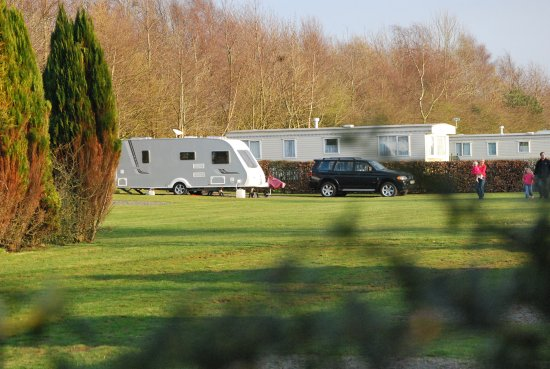 Cockerham, UK: Touring Caravan Pitches