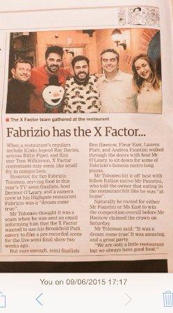 Image Fabrizio in London