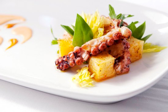 Forestville, CA: Farmhouse Restaurant Grilled Octopus