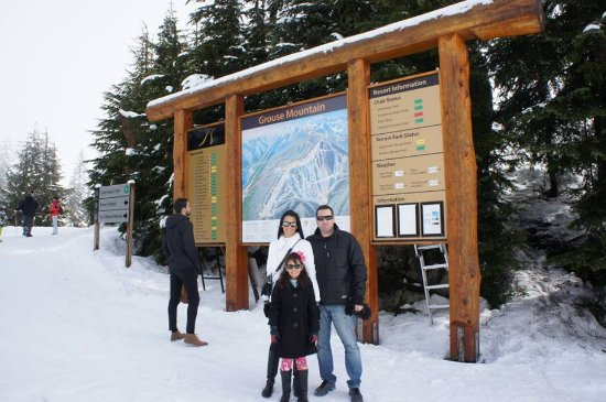 North Vancouver, Canada: Grouse Mountain