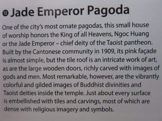 ‪‪Emperor Jade Pagoda (Chua Ngoc Hoang or Phuoc Hai Tu)‬: Explanation of the Pagoda‬