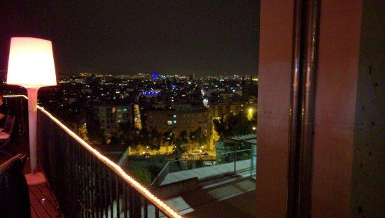Xalet de Montjuic: City at night