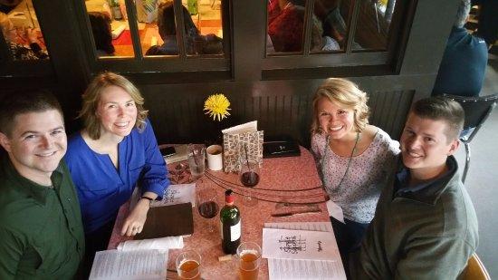 Fenton, MI: Having dinner with siblings