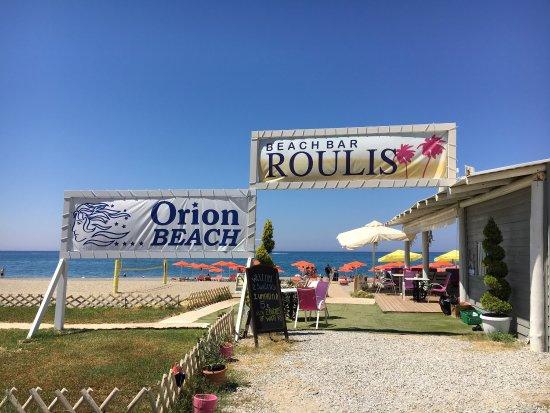 Adele, Greece: Roulis Beach Bar