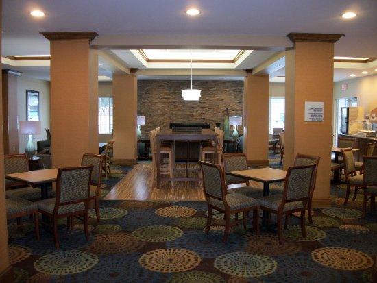 Holiday Inn Express Cortland: Great Room