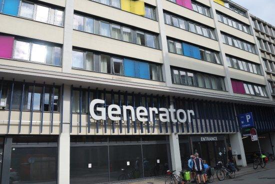Generator Copenhagen: Fachada