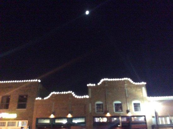 Historic Downtown Plano: Plano at night!