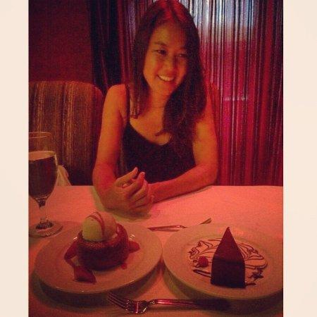Mastro's Steakhouse - Costa Mesa: Desserts : Butter Cake, Chocolate Sin Cake