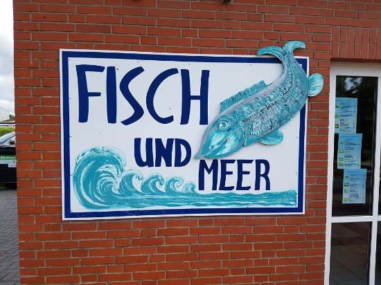 Bensersiel, Duitsland: Fisch und Meer