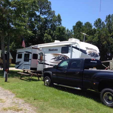 Golden Isles RV Park: Nice pull through sites