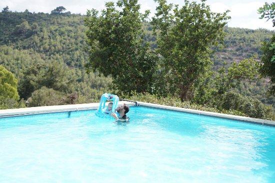 Campagnatico, Italia: En la pisina