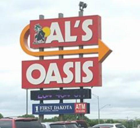 Оакома, Южная Дакота: Al's!