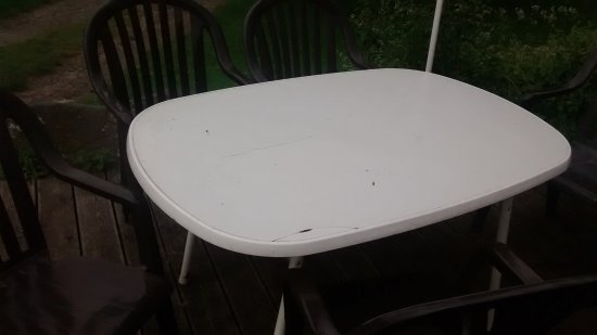 Sachsen-Anhalt, Deutschland: betagter Tisch