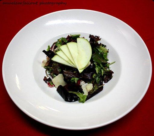 Del Mar, CA: Apple walnut salad with champagne vinaigrette