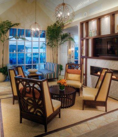Del Mar, كاليفورنيا: Hotel Lobby Sunset