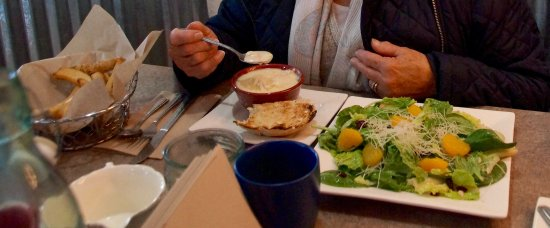 Gallatin Gateway, MT: Soup and salad