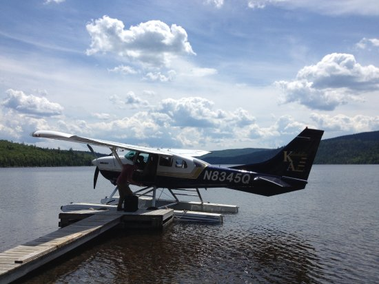 Katahdin Air: Arriving at the wilderness camp