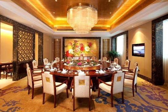 Taizhou, China: Private Dining Room