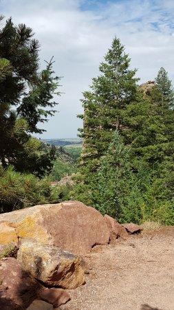 Eldorado Springs, CO: Fowler Trail - Scenic overview