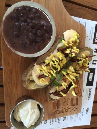 นอร์ทไมแอมีบีช, ฟลอริด้า: Wasabi double baked potatoes!