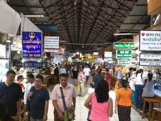 Bogyoke Aung San Market: wildes treiben