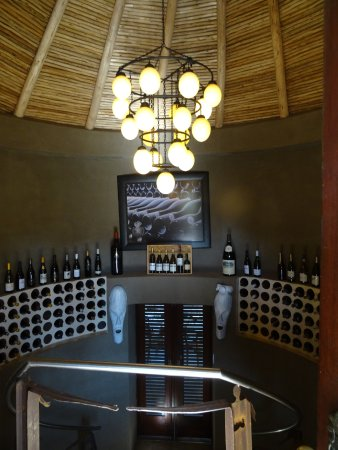 Ulusaba Safari Lodge: Wine cellar