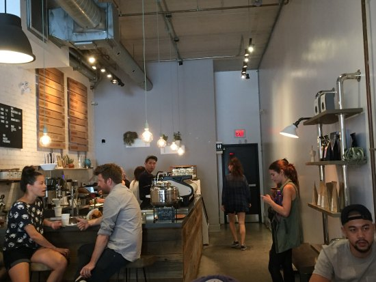 Photo of Cafe Early Bird Espresso & Brew Bar at 613 Queen St W, Toronto M5V 2B7, Canada