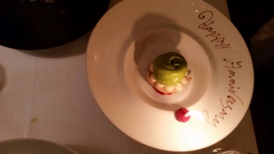 Bouley: Nice touch!