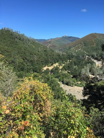 Whiskeytown, Kalifornien: Summer View from Clear Creek Vista Trail