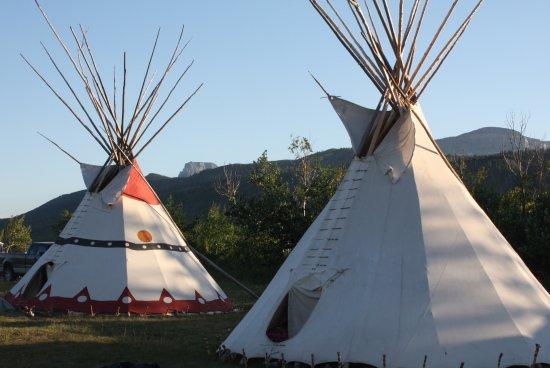 Saint Mary, Μοντάνα: Tipi Camp